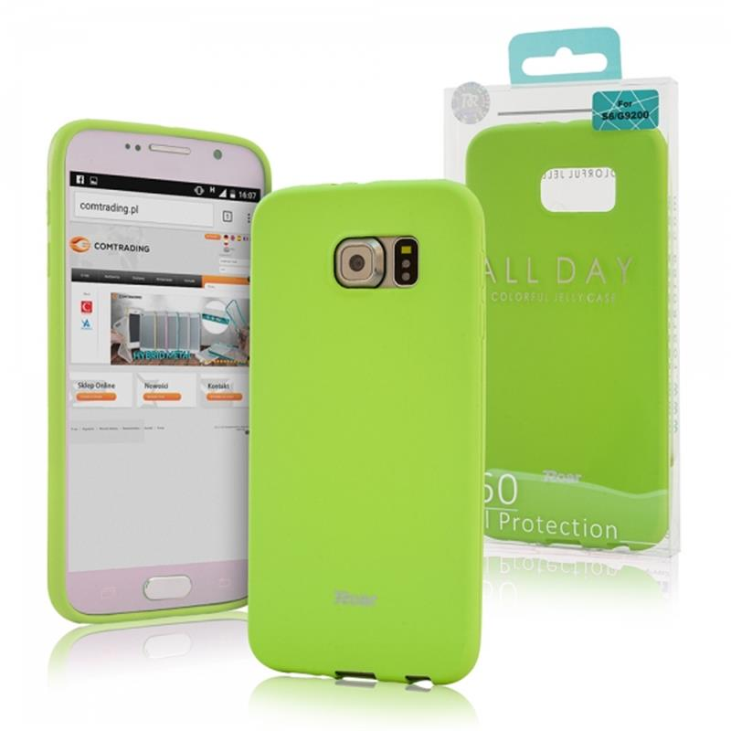 OVITEK SILIKON ROAR COLORFUL JELLY HTC U ULTRA LIME